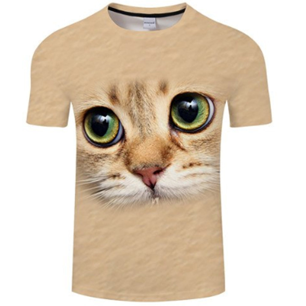 Lovely Innocent Cat 3D T Shirt