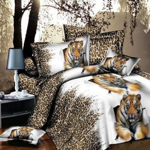 Tiger Beauty Duvet Cover Set