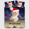 Christmas Collectible Kitten Duvet Cover Set