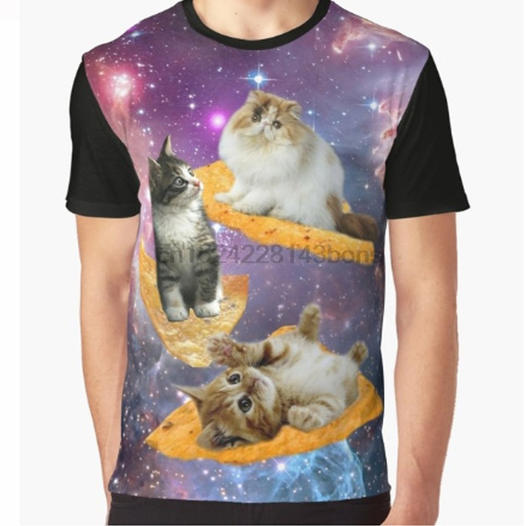 Cat Chip 3-D T Shirt