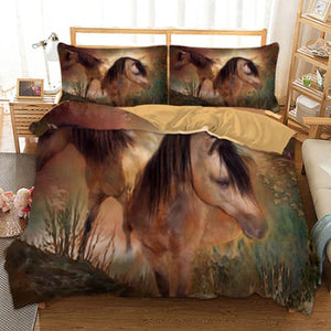Beautiful Horse Duvet Cover Set