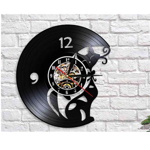 Cat Decorative Wall Clock