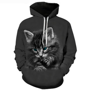 Innocent Cuteness Kitten Hoodie