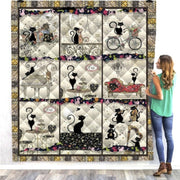 Black Cat Activity Quilt
