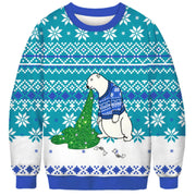 Polar Bear Christmas Ugly Sweater