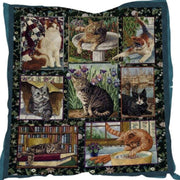 Beautiful Detailed Cat Quilt