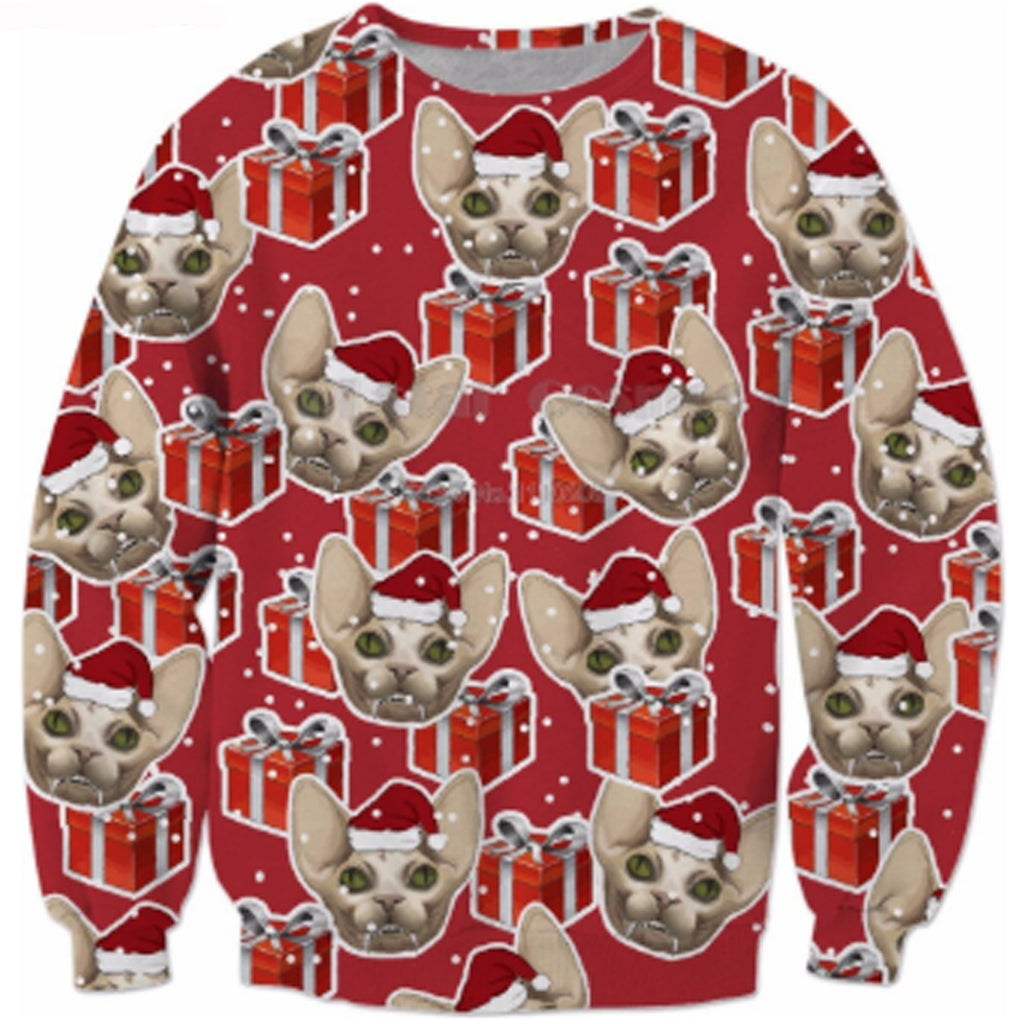 Christmas Chihuahua Christmas 3-D Sweater