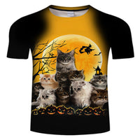 Halloween Kittie T Shirt