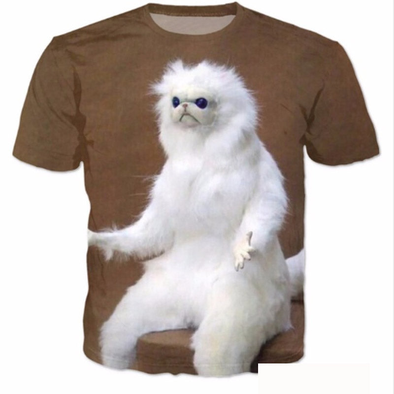 Funny Cute Persian Cat T Shirt