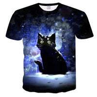 Black Kitty T Shirt