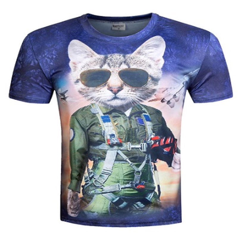 Cool Cat Air Force T Shirt