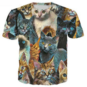 Multi Kittens T Shirts