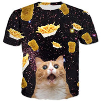 Kitty And Fries N Nuggets T Shirt
