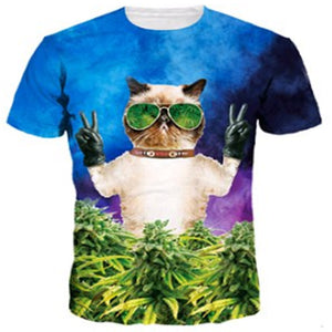 Cat Weed Grower T Shirt