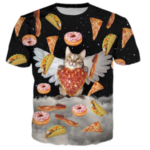 Heavenly Cat Eatery T Shirt