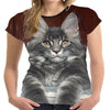 Majestic Maine Coon Kitten T Shirt