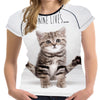 Nine Lives Bengal Kitten T Shirt