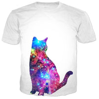 Galactic Cat T Shirt
