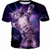 Space Laser Kitten T Shirt