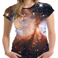 Trippin' Space Cat T Shirt