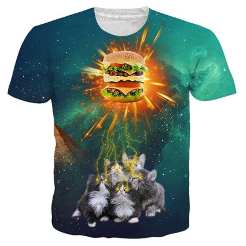 Kitty Burger T Shirt