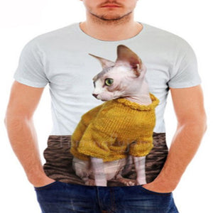 Beautiful Clothed Sphynx Cat T - Shirts
