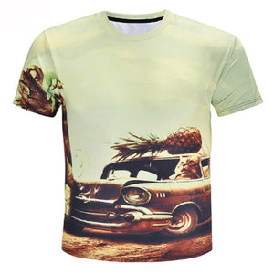 Pineapple Drive Kitty T Shirt