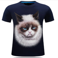 Beautiful Blue Eyed Siamese Cat T Shirt