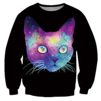 Psychadelic Cat Sweater