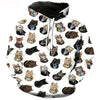 Many Kittens And Cats Hoodie