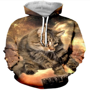Maine Coon In Space Hoodie