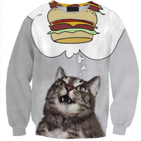Cat Burger Dream Sweater