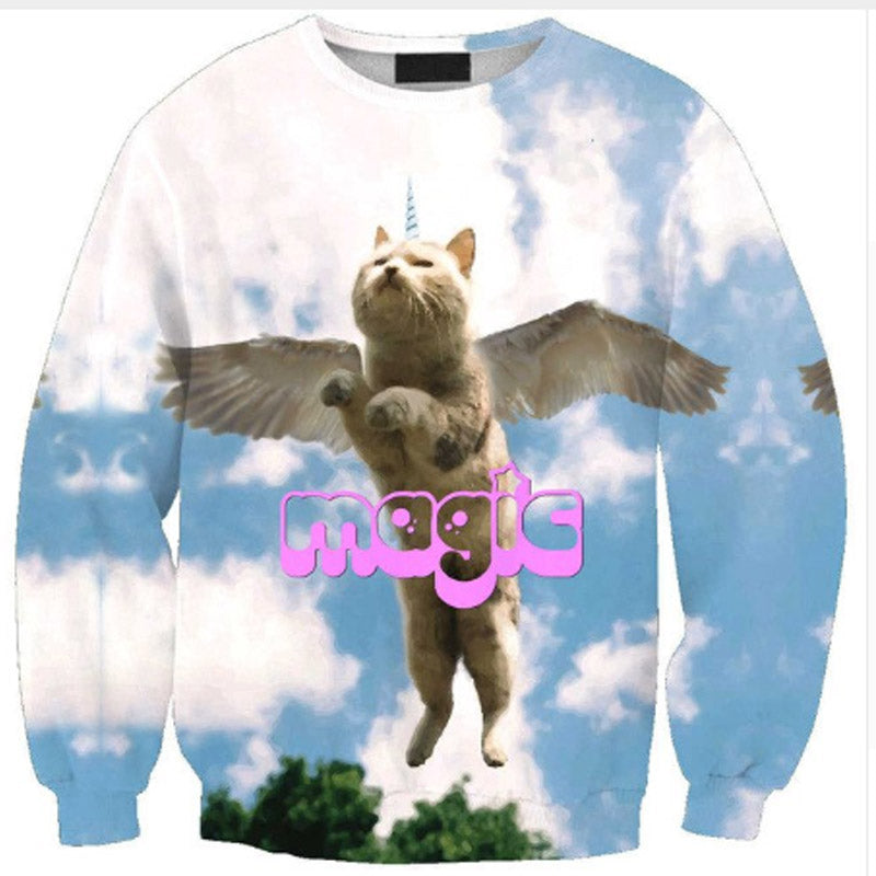 Magic Cat Winged Sweater