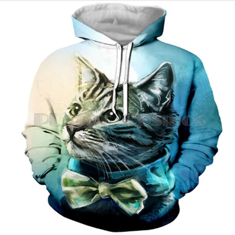 Mr.Handsome Cat Hoodie