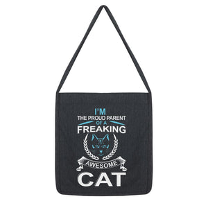 I'm The Proud Parent Of A Freaking Awesome Cat Tote Bag