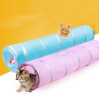 Cute Cat Play Tunnel