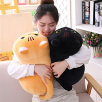 Cute Soft Cat Plush Pillow Cushion
