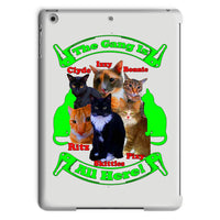 The Gang Is All Here 6 Cats Tablet Case