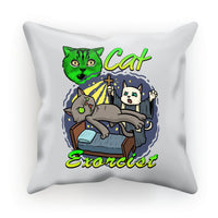 Cat Exorcist Apparel And Gifts Cushion
