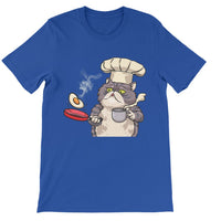 Persian Cat Cook Short Sleeve T-shirt
