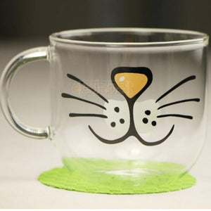 Crystal Cat Cup Juice Mug
