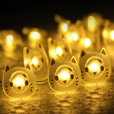 Cat Copper Wire LED Fairy Lights