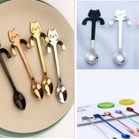 Stainless Steel Kitty Spoons