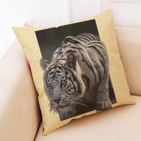 Exotic Cat And Tiger Pillow Cases
