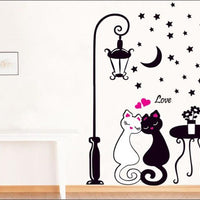 Cat lovers Wall Art Decal Sticker