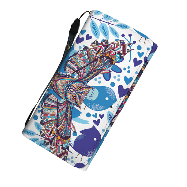 Owl Lady Long Wallet - Kickcap