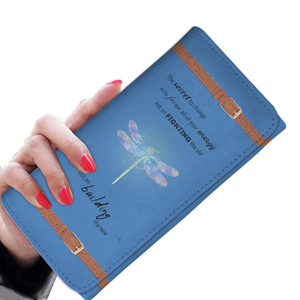 Dragonfly Blue Wallet