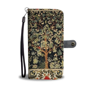 William Morris Tree of Life Wallet Case