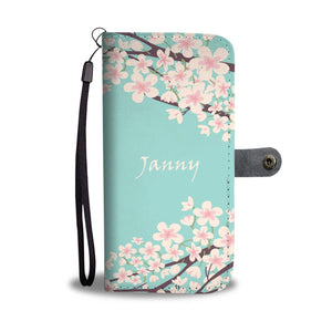 Jenny Wallet Case - Customizable Text - Kickcap