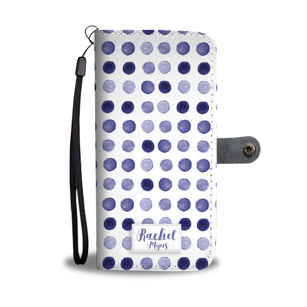 Rachel Wallet Case - Customizable Text - Kickcap